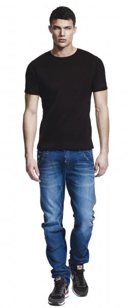 Bamboo T-Shirt Herren schwarz
