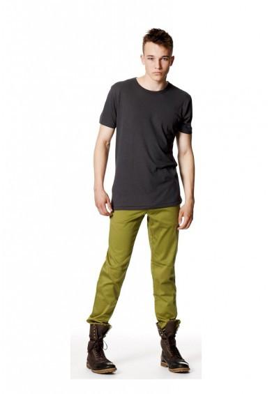 Bamboo Herren Rundhals T-Shirt Anthrazit