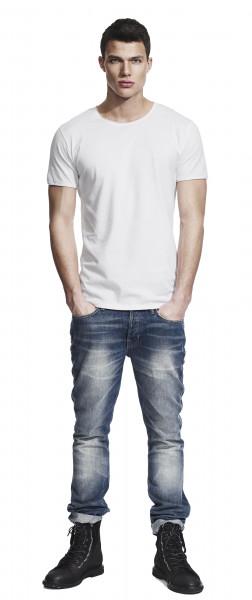 Bamboo Herren T-Shirt weiss
